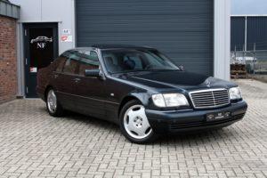 Обзор на премиальный седан Mercedes-Benz W140